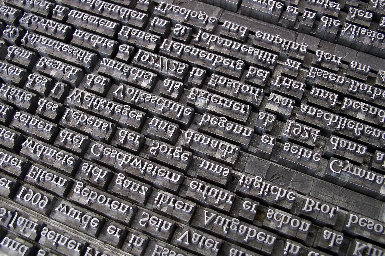 typeset-font-705667_1280