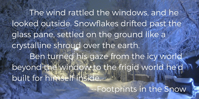 Footprints in the Snow excerpt
