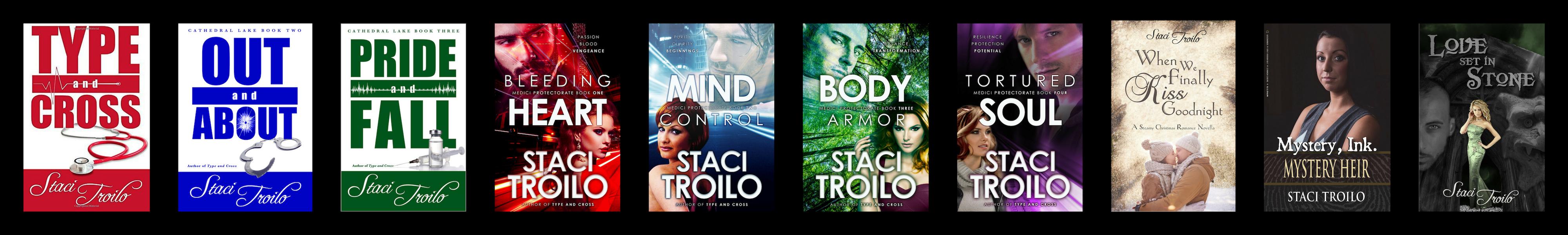 Staci Troilo's Books